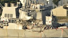 Bodies Of 7 Sailors Found In Flooding Compartments On US Navy Destroyer
