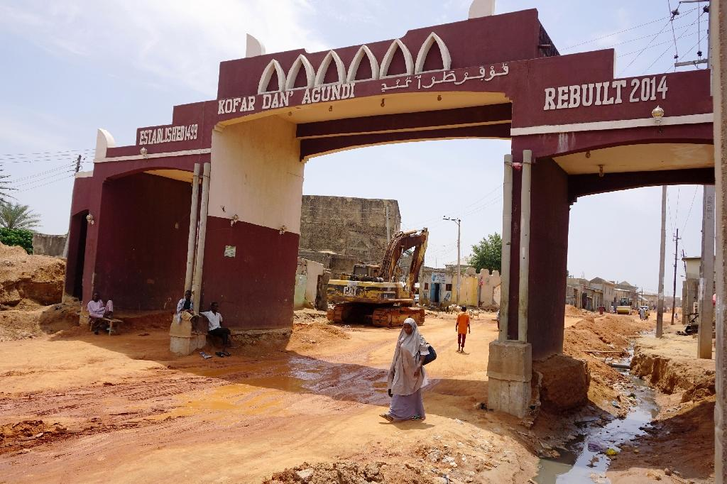 The historic walls are under threat from a combination of an exploding population and local politics (AFP Photo/AMINU ABUBAKAR)
