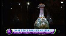 Vase sells for $25 million