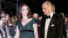 避免政治敏感?凱特皇妃不穿黑裙,以一襲高貴的綠色晚裝現身 BAFTAs