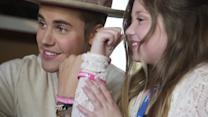 Watch Justin Bieber Meet Two Inspiring (and Adorable) Super Fans