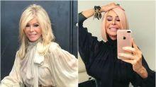 Bibiana Fernández: ¿cambio radical de look o peluca rosa?