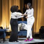The rock concert was a book tour: Inside the opening night of Michelle Obama's Becoming Live