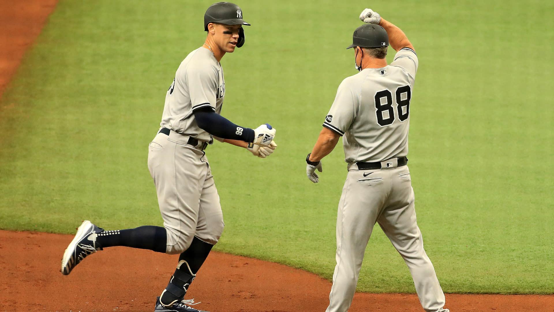 Judge crushes another home run in Yankees' win, Scherzer shines