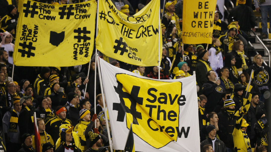 Columbus Crew try to change name. Fans revolt.