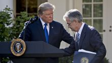 Trump tones down criticism of Powell after Fed signals willingness to ease