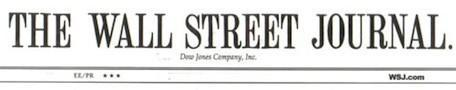 Wall Street Journal selling subscriptions via Apple's Newsstand