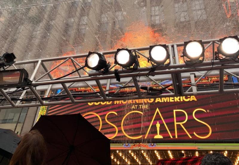 La lluvia en Los Ángeles ensombrece la cuenta regresiva de los Premios Óscar