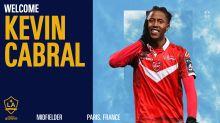 LA Galaxy sign winger Kévin Cabral