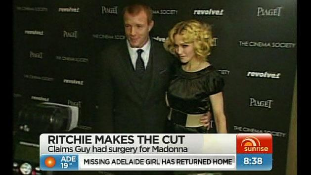 Guy Ritchie makes the cut