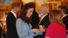 Kate Middleton debuta su pancita de embarazo
