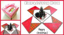 Selbstgemacht: Geschenkbox für Weihnachten