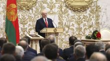 Belarus president sworn in at unannounced inaugural ceremony