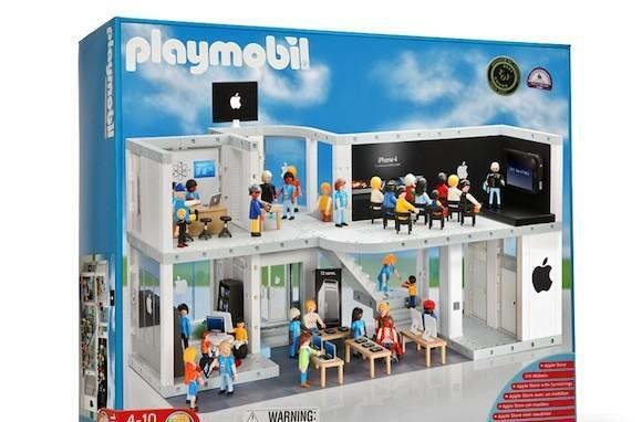 PLAYMOBIL™ Apple Store Play Set: Ignite Apple fandom in your kids
