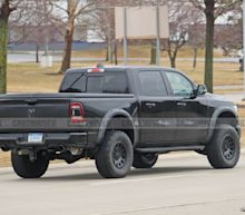Spy Photos of the Ram Rebel TRX Pickup Prototype