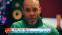 Bizarre video from East 17 singer Brian Harvey