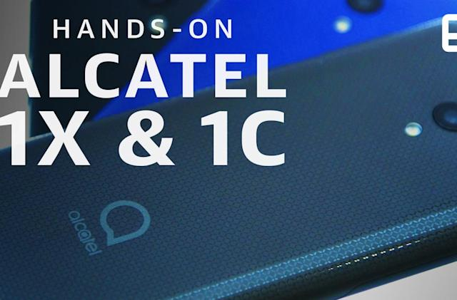 Alcatel's inexpensive 1X and 1C phones bring some important upgrades
