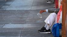 Giant Boulders Mirror Desperation In California's Homelessness Crisis