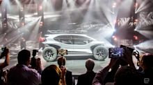 Audi's AI:Trail concept is an off-road EV with drones for headlights