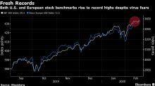 Goldman Sees High Risk of Stock Market Correction on Virus Complacency