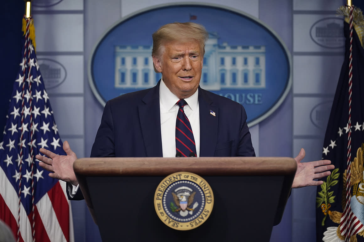 Trump eyes student loan relief extension