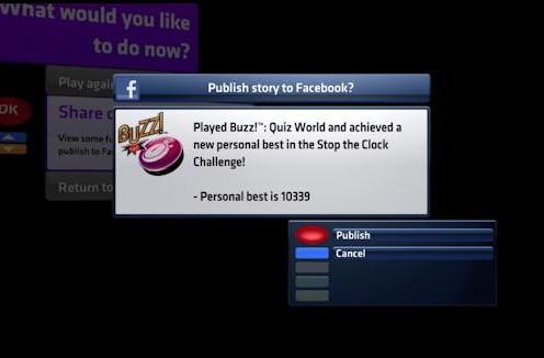 PS3 expands Facebook functionality with Buzz! Quiz World