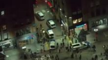 Car appears to run over protesters live on-air in Boston amidst George Floyd protests