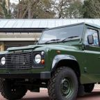 Royal family reveals Prince Philip's custom Land Rover Defender gun bus