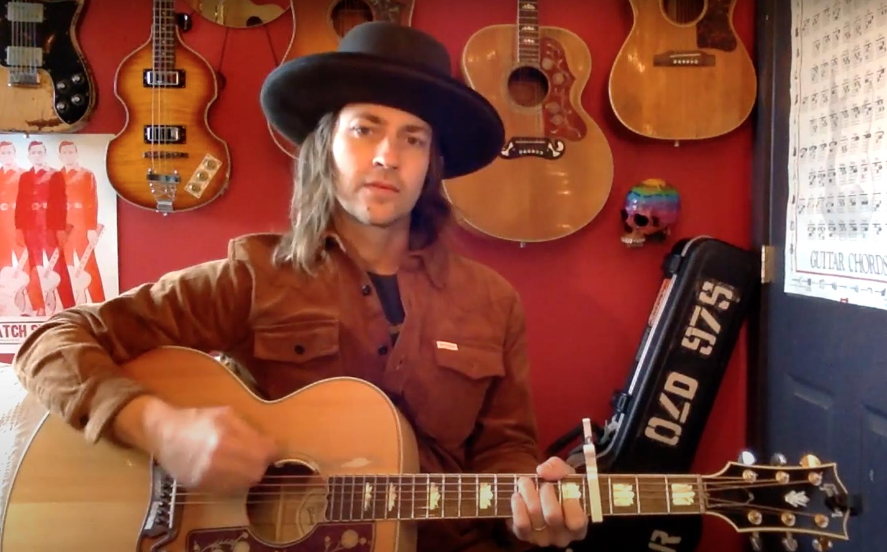 Rhett Miller Covers Johnny Cash Otis Redding For Mighty Song Writers Series