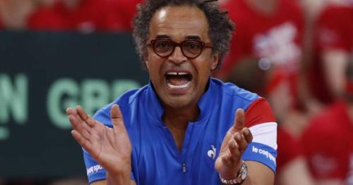 Coupe Davis - Yannick Noah : «Henri Leconte doit avoir des trous de mémoire»