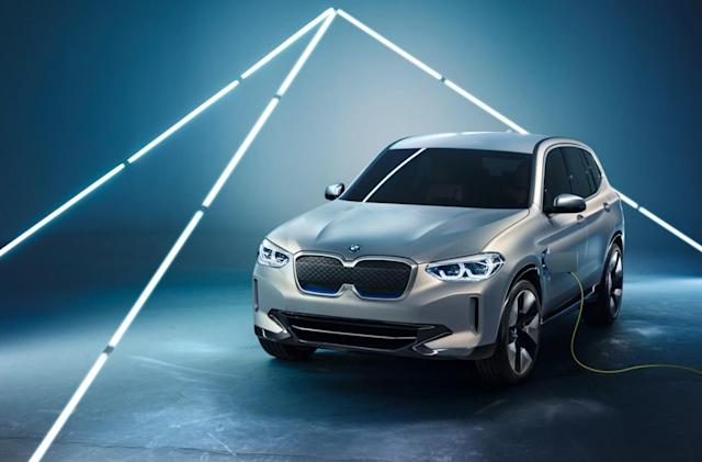 BMW won't sell its first electric crossover in the US