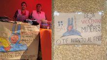 Juan Carlos Bodoque, de '31 Minutos', se une a las protestas por la violencia contra las mujeres en México