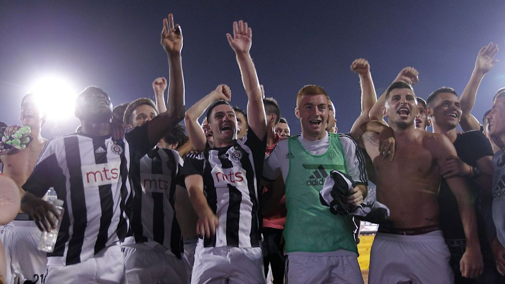 Partizan Belgrad darf in UEFA-Wettbewerben starten