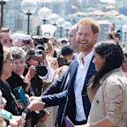 Prince Harry Makes Rare Break in Protocol to Take a Photo of Meghan Markle with Her Mini-Me