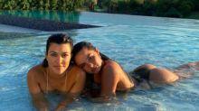 How did Kourtney Kardashian and Addison Rae become friends?