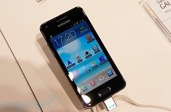 Samsung Galaxy S Advance hands-on (video)