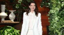 Anne Hathaway Shares Rihanna's Hilarious Comment About Her Post-Baby Booty