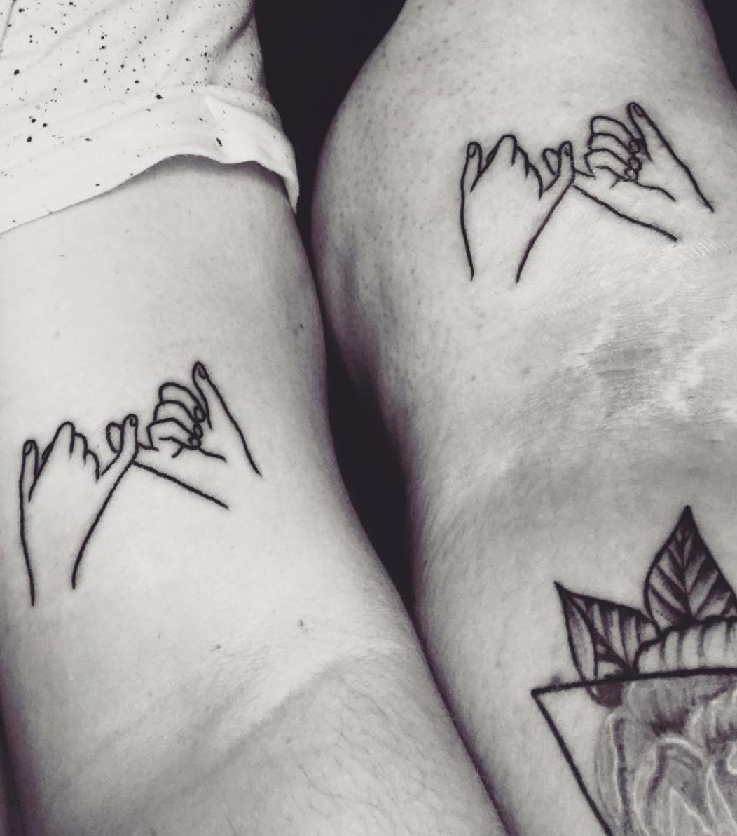 17 Minimalist Tattoo Ideas For Couples
