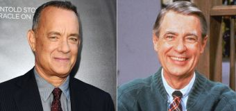 Tom Hanks learns he's related to Mr. Rogers