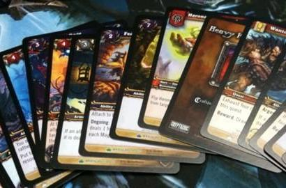 Wrathgate TCG set overviews on official site