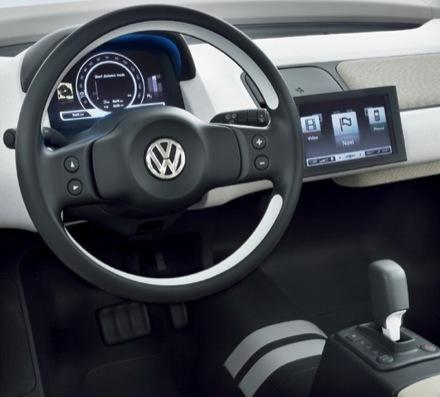 Is the VW Space Up! interface developed by Apple?