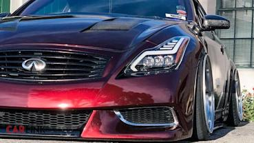 超吸睛「假戰神」!Infiniti G35 Coupe車頭「類R35 GT-R」另類改
