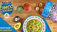 """Tostitos And Avocados From Mexico Team Up To Bring Tableside Guac To The Streets Of NYC, """"Cinco Central"""" Promotion To Retailers Nationwide"""