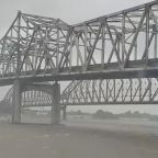 Tropical storm Barry rolls into Louisiana, drenches Gulf Coast