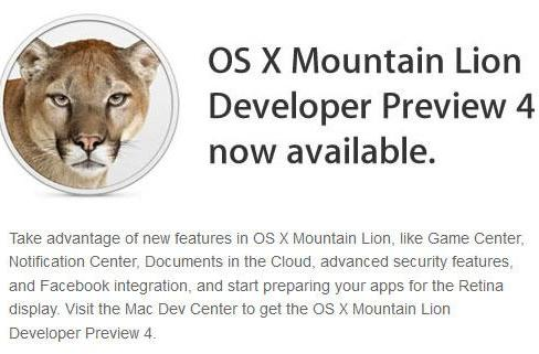 Apple releases Mountain Lion Preview 4 and iOS 6 for developers, iTunes 10.6.3 for everyone else