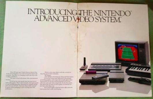 Early Nintendo brochure shows us the childhood we could have had, the knitting we never did
