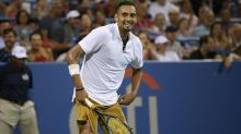 Business as usual for Kyrgios in New York