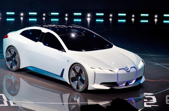 BMW unveils the zippy i Vision Dynamics electric concept car