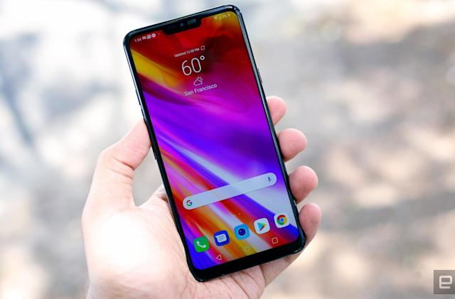 LG's AI-infused G7 ThinQ is now available in the US