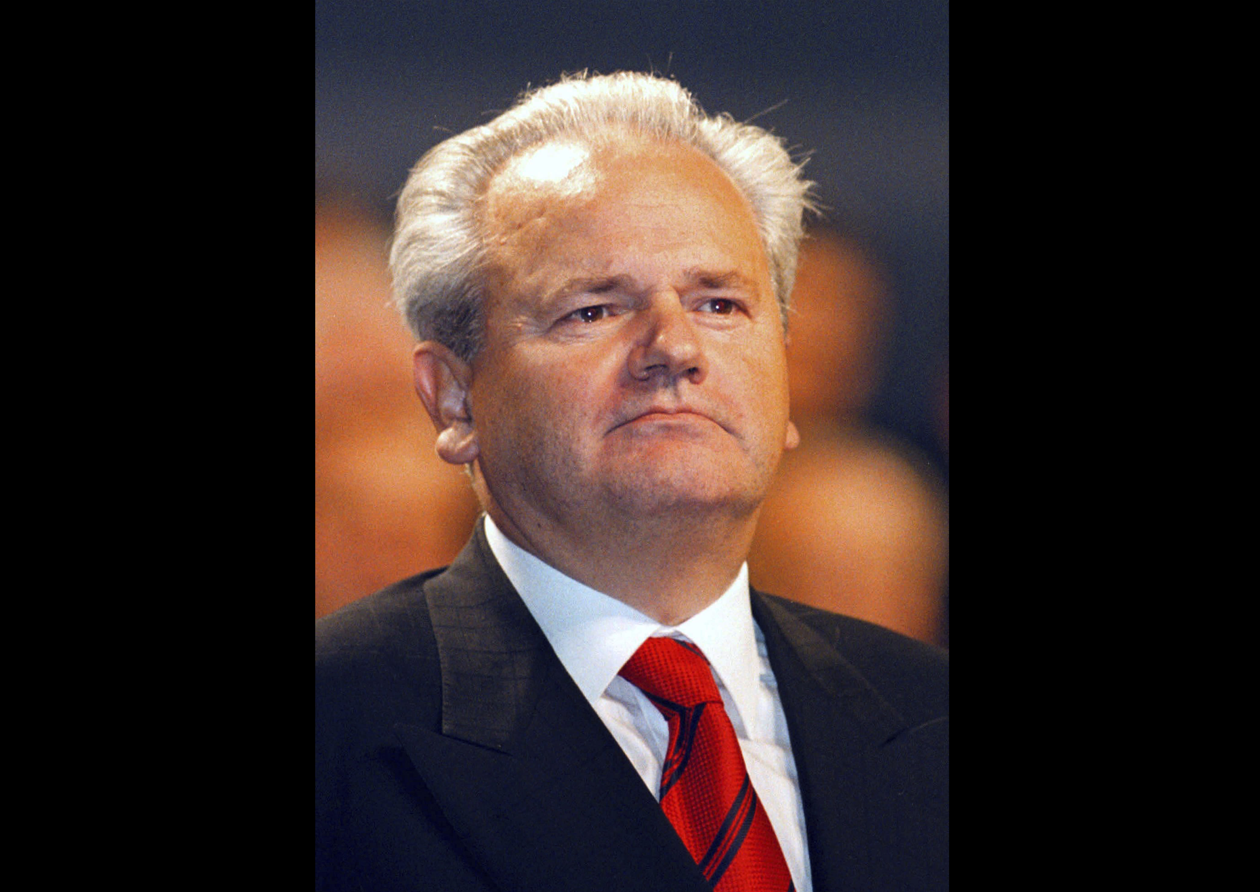 Serbian president's praise of Milosevic triggers outrage